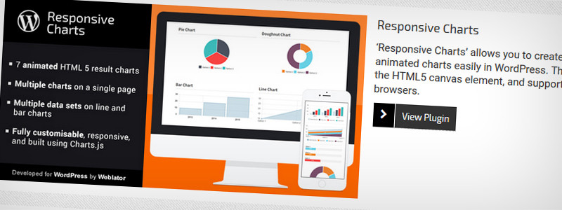 Responsive Charts WordPress Plugin