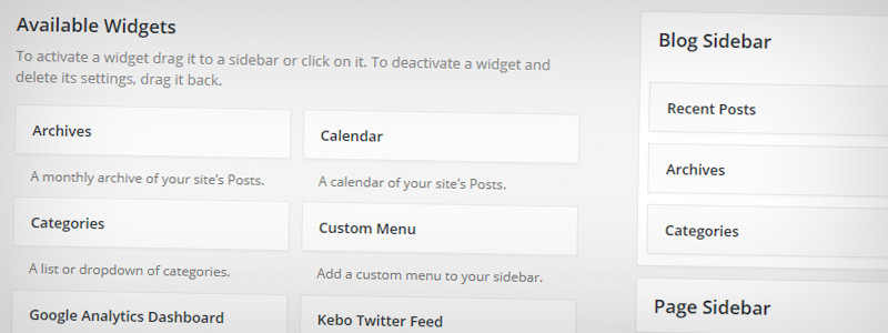 Using shortcodes in your WordPress Sidebar Widgets